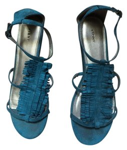 Fioni Turquoise blue Sandals