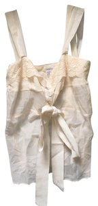 Pinko Night Out Cream Halter Top