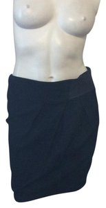 7 For All Mankind Mini Skirt Navy blue