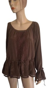 4 Love and Liberty Top Brown