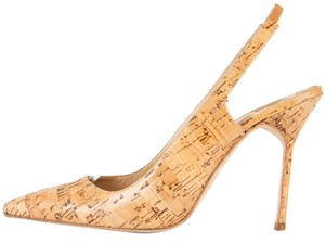 Manolo Blahnik Cork Pumps