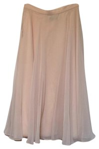 Farinae Collections Maxi Skirt Cream