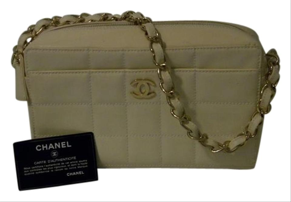 Chanel Quilted Rare Patent Leather Evening Shoulder Bag