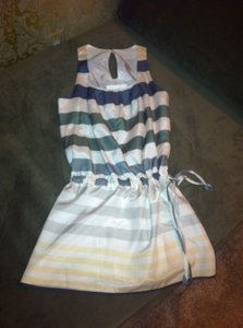 Thread Social short dress Multi stripe on Tradesy