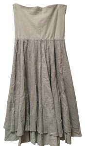 Lapis Midi Maxi Maxi Skirt Light Blue/Grey