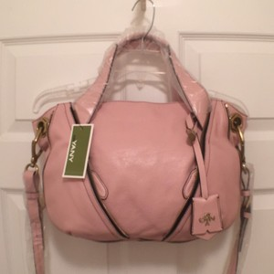 orYANY Leather Cross Body New/nwt Satchel in Pink