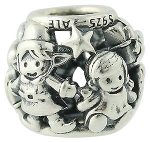 cc01c7ce3 PANDORA Pandora Bead Charm - Sterling Silver 14k Gold Family Forever 791040  Ale 925