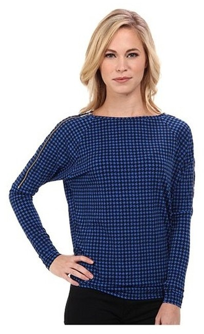 Preload https://item4.tradesy.com/images/michael-kors-temporary-price-reductionhoundstooth-zip-sleeve-blouse-size-petite-2-xs-1673643-0-0.jpg?width=400&height=650