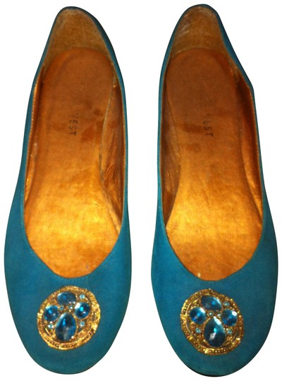 Preload https://item3.tradesy.com/images/nine-west-turquoise-flats-size-us-75-16737-0-0.jpg?width=440&height=440