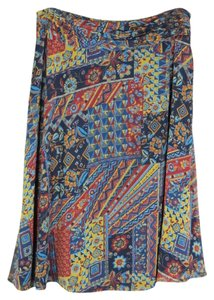 Coldwater Creek Maxi Skirt Multi-Color