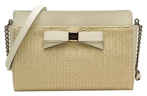 Kate Spade Wkru3046 Satchel in Natural/White