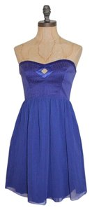 Walter by Walter Baker Bustier Strapless Fit And Flare Dress