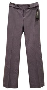 Banana Republic Trouser Pants Grey and lavender stripes