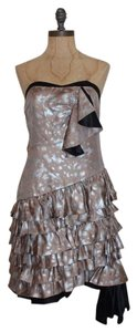 Marc by Marc Jacobs Strapless Tiered Ruffle Evening Dress