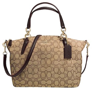 Coach Next Day Shipping Satchel in Khaki / Brown