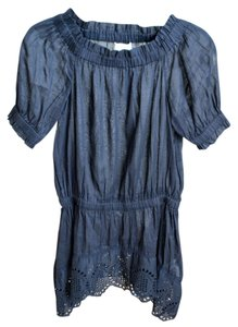 Michael Kors Summer Tunic Top Navy