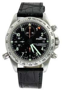 Fortis Fortis 607.22.170 Official Cosmonauts Chronograph Alarm Night/Day Indicator Watch