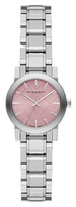 Burberry Burberry Women's Swiss The City Pink Dial Stainless Steel Bracelet 27mm
