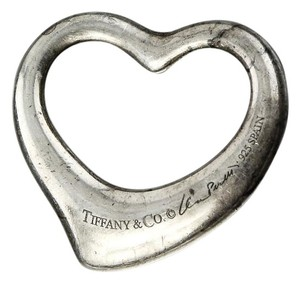 Tiffany & Co. * Tiffany & Co Heart Elsa Peretti 925 Silver Pendant.