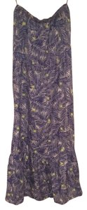 Blue Palm Print Maxi Dress by Vineyard Vines