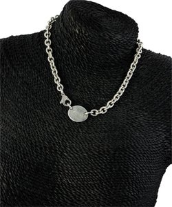 Tiffany & Co. * Tiffany & Co Oval Tag Link Chain Necklace