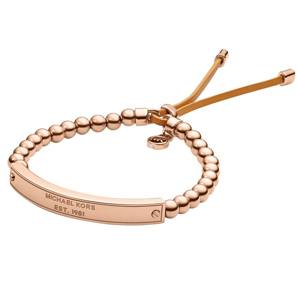 michael kors rose gold bracelets 19 off michael kors jewelry tradesy. Black Bedroom Furniture Sets. Home Design Ideas