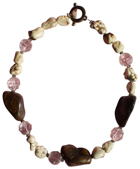 Preload https://item1.tradesy.com/images/rocks-and-crystal-beads-necklace-167400-0-1.jpg?width=440&height=440