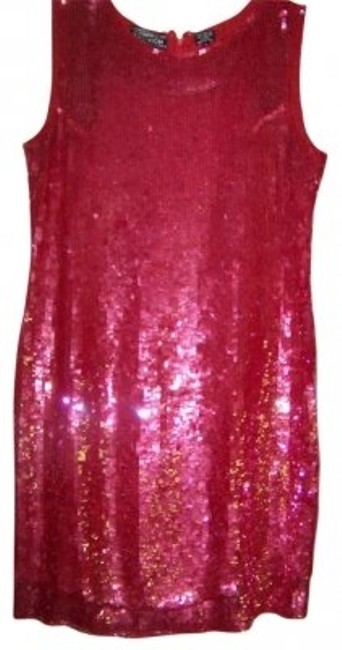 Preload https://item5.tradesy.com/images/berry-red-full-sequined-knee-length-night-out-dress-size-12-l-167409-0-0.jpg?width=400&height=650