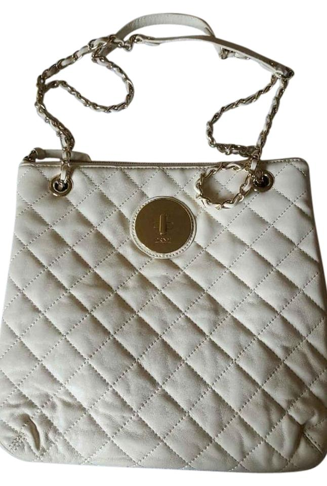 Dkny Chain With Leather Shoulder Bag