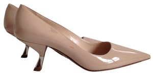 Prada Beige-Powder Pumps
