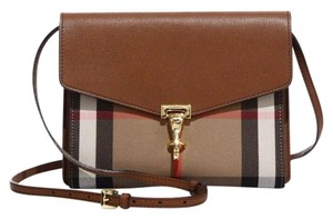 Burberry Brown House Check Cross Body Bag
