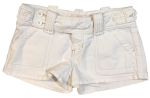 Abercrombie & Fitch Cargo White Dress Shorts Vintage White