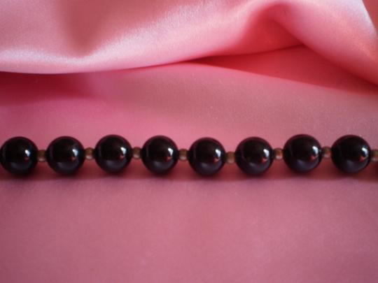 Other Black lucite beads necklace