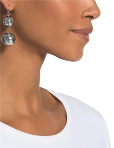 Chico's Chico's Silver Balls Drop Earrings NWT
