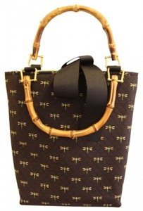 Keeks & Brie Satchel in black with dragon flies