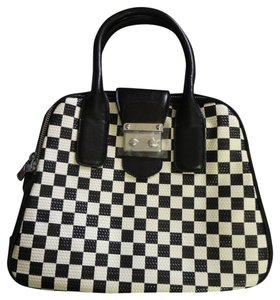 Other Satchel in NEW BLACK & WHITE CHECKER SHOULDER PURSE BAG