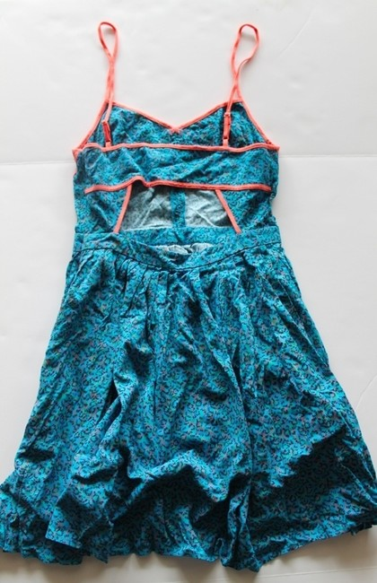 Cooperative short dress Blue Multi Urban Outfitters Multiprint on Tradesy