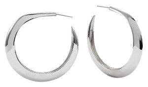 Chico's Chico's Silver Hoop Earrings NWT