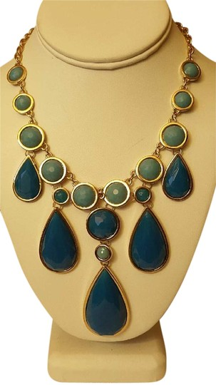 Preload https://img-static.tradesy.com/item/16743742/francesca-s-turquoise-and-blue-fashion-pendants-gem-stone-stylestatement-necklace-0-1-540-540.jpg