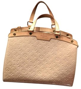 Louis Vuitton Satchel in Nude