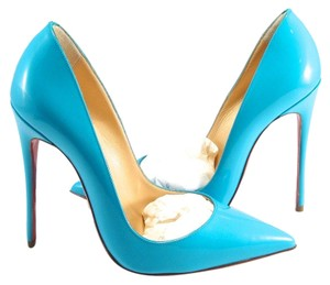 Christian Louboutin So Kate blue Pumps