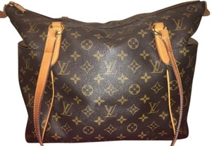 Louis Vuitton Monogram Tote Canvas Shoulder Bag