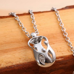 9.2.5 Mom Daughter Silver 925 Pendant Loving Family 3 Necklace