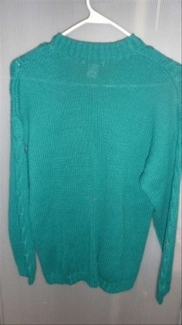 Boundary Waters Cable Knit V-neck With Two (2) Pockets In Front Size M Sweater