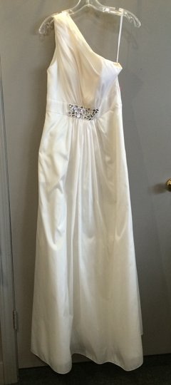 Bari Jay Ivory Wedding Dress Size 10 (M)