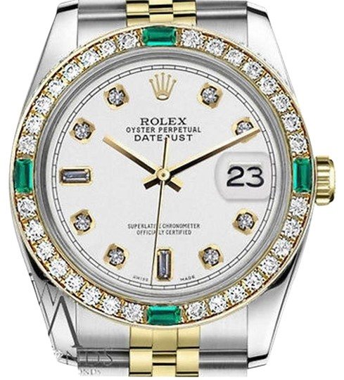 Preload https://img-static.tradesy.com/item/16746601/rolex-36mm-datejust-2-tone-white-color-dial-with-emerald-82-diamond-watch-0-1-540-540.jpg