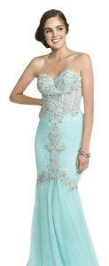 Coya Beaded Mermaid Crystals Dress