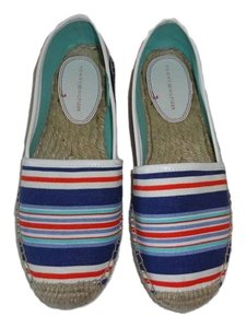 Tommy Hilfiger Fabric RED/WHITE/BLUE STRIPES Flats