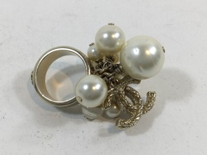 Chanel Pearl Cluster Ring