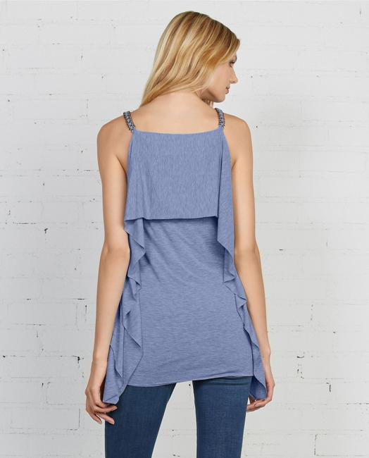 Bailey 44 Layered Chain Blouses Top Blue Image 1